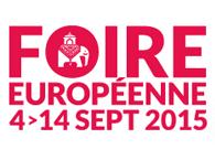 FOIRE EUROPEENNE DE STRASBOURG DU 4 AU 14 SEPTEMBRE 2015